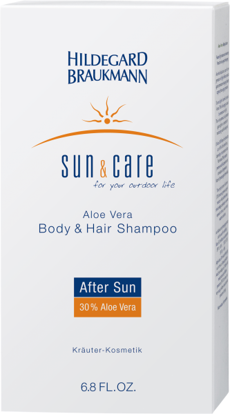 Aloe Vera Body & Hair Shampoo After Sun