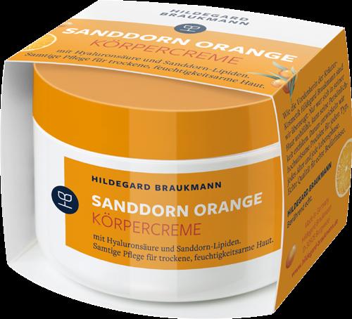 Sanddorn Orange Körpercreme