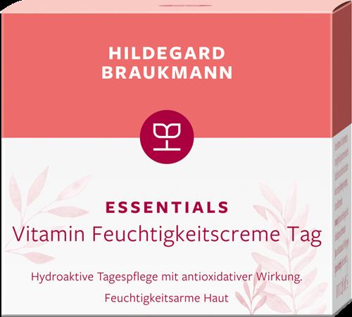 Vitamin Feuchtigkeitscreme Tag