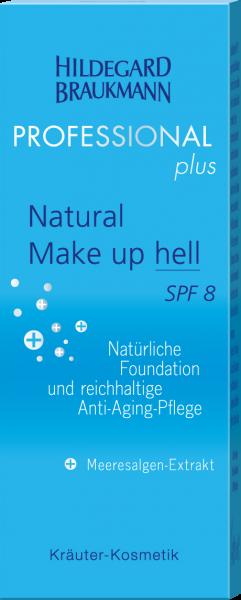 Natural Make up SPF 8 hell
