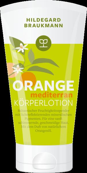 Orange mediterran Körperlotion