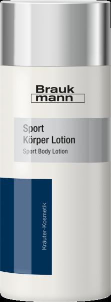 Sport Körper Lotion