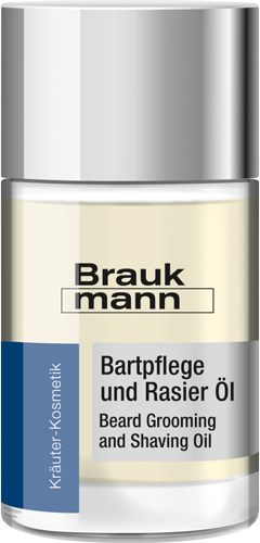 Bartpflege und Rasier Öl