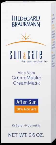 Aloe Vera CremeMaske After Sun