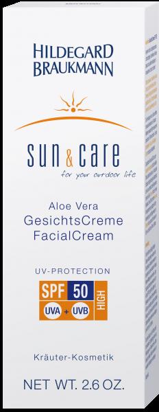 Aloe Vera GesichtsCreme SPF 50