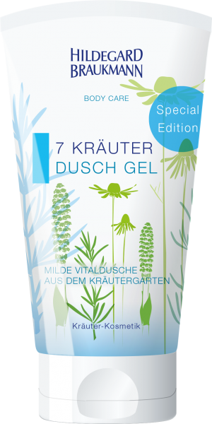 7 Kräuter Dusch Gel 150 ml Special Edition