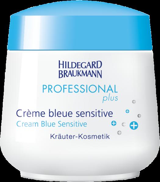 Crème bleue sensitive