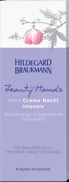 Hand Creme Nacht intensiv
