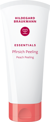 Pfirsich Peeling